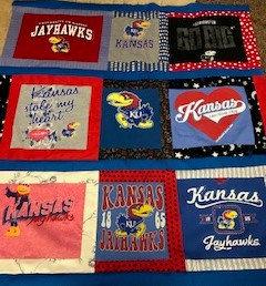 Kansas University KU Quilt
