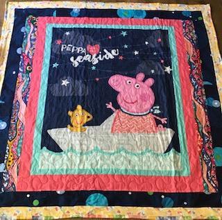 Peppa Pig quilt
