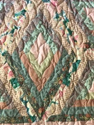 Vintage Hexigon Star Quilt