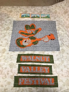 Walnut Valley Festival, Winfield KS, music camping quilt