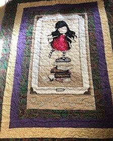 Santoro's Gorjuss - Girl on Books