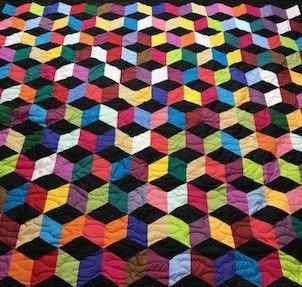3D Block Quilt