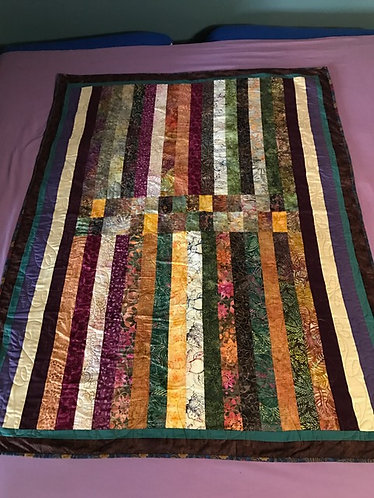 Batik and Butterflies Quilt