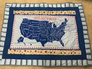 United States Activity Quilt --State Capitals