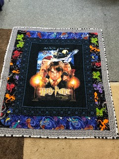 Harry Potter theme quilt