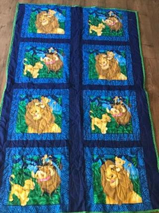 The Lion King quilt