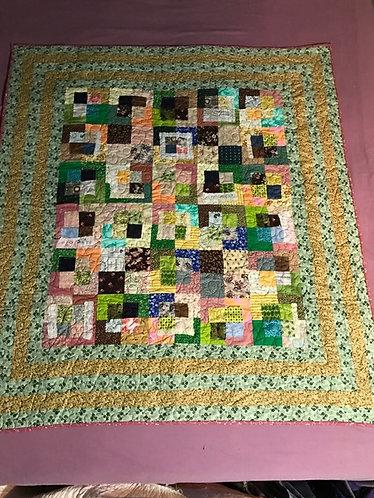 Scrappy Squares Quilt