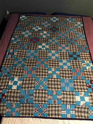 Patchwork squares Quilt