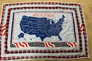 United States Activity Quilt -- Matching States