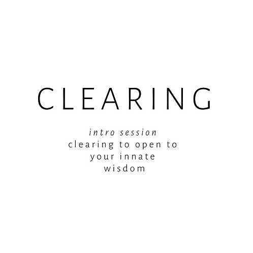 CLEARING: Single Session