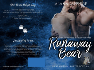 RUNAWAY BEAR COVER REVEAL