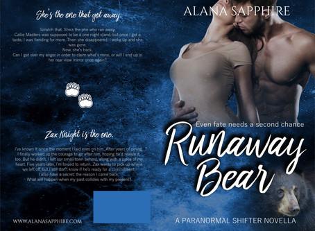 RUNAWAY BEAR COVER REVEAL