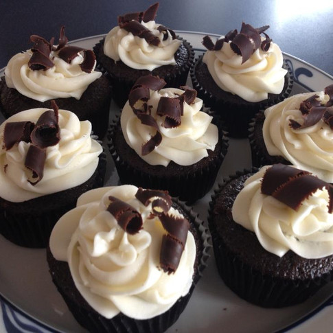 Decadent Black Tie Cupcakes