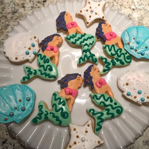 Mermaids and Shells