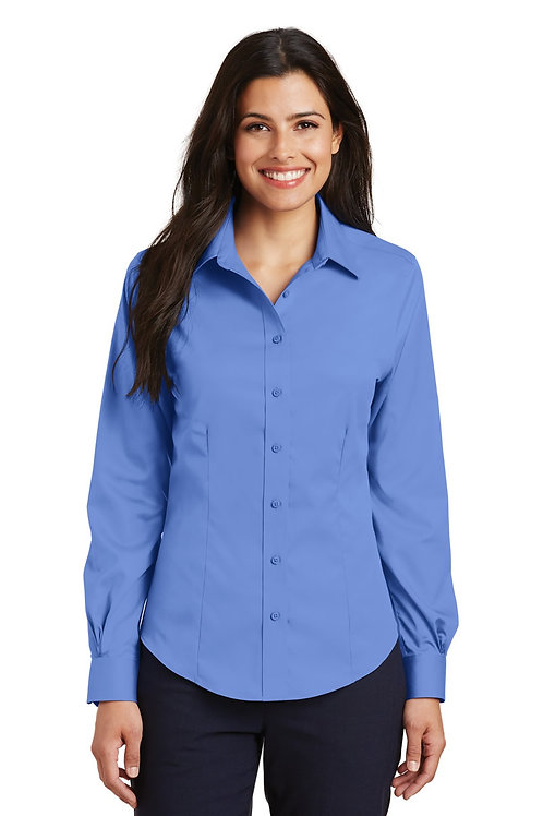BHI Womens  Non Iron Twill Shirt