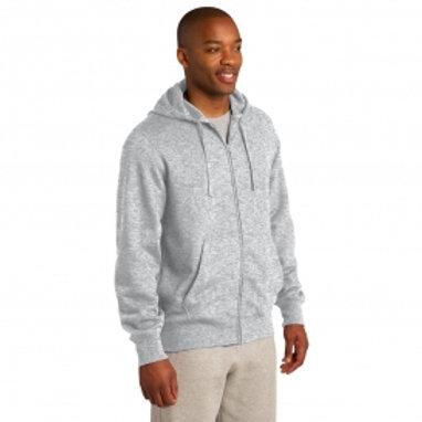 BHI Mens Full-Zip Hooded Sweatshirt