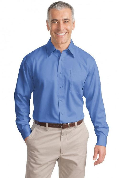 BHI Mens Non Iron Twill Shirt