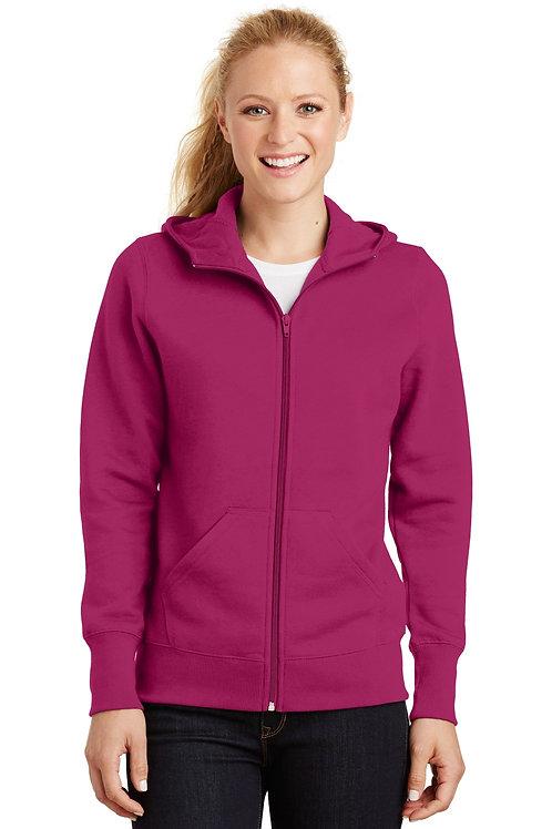 BHI Womens Full-Zip Hooded Fleece Jacket