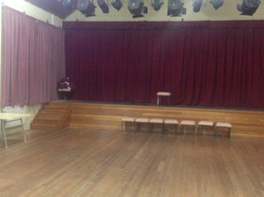 Our Curtains Are Up At Our Crossroads Theatre