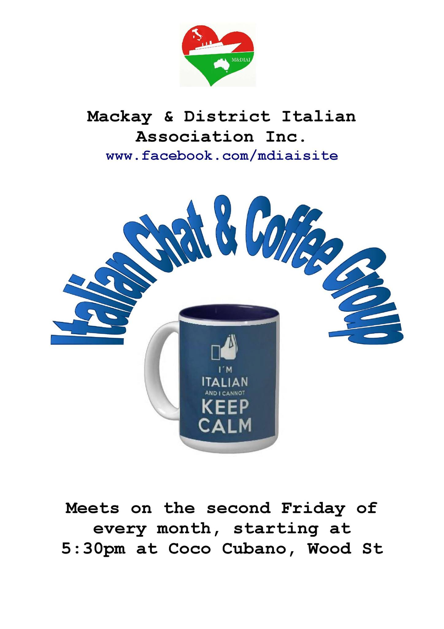 MDIAI Italian Chat and Coffee Group