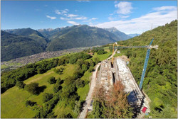 Panoramica del cantiere