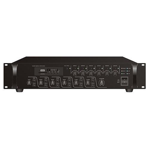 AM-1200 6Z Amplificador con zonas 120W