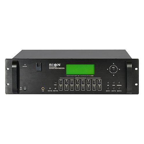 DAM-6600 Matriz de Audio 8x16