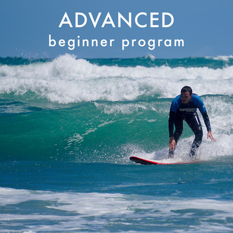 Intermediate surf programme