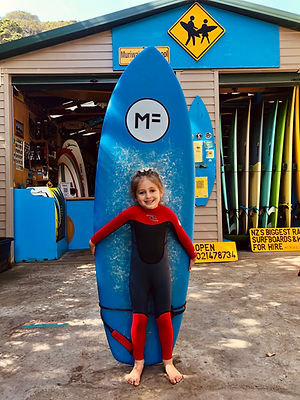Youth surf lesson