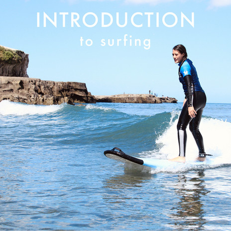 Introduction to surfing, beginner surf lesson