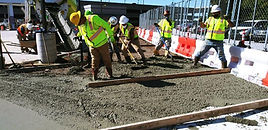 AIRPORT SIDEWALK PLACING AND FINISHING S