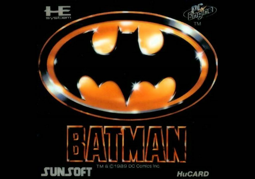 batman b89 tim burton michael keaton pc-engine turbografx sunsoft hucard dc comics rgg retrogamegeeks.co.uk retrogaming videogames retro game geeks games retrogames gaming gamers pce tg16 film movie 1989 crime detective superheroes