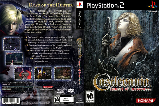 castlevania lament of innocence playstation 2 ps2 vampires Dracula konami retrogamegeeks.co.uk retro game geeks retrogaming rgg videogames retrogames gamers gaming games memories remembers videogames werewolves monsters horror 3d nes ps1 megadrive snes