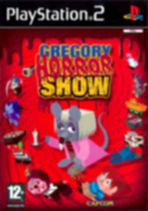 gregory horror show capcom playstation ps2 rgg retrogamegeeks.co.uk retrogaming videogames horror mental health cgi playstation2 retro game geeks remembers box art front cover