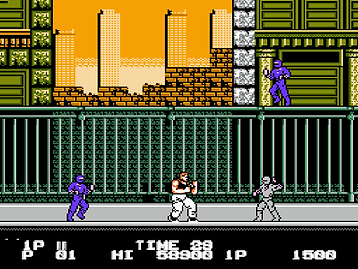 bad dudes vs dragon ninja data east nintendo entertanment system review retrogamegeeks rgg nes ntsc screenshots