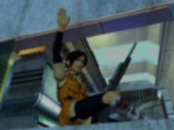 blue stinger review sega dreamcast horror rgg retrogamegeeks.co.uk retro game geeks retrogaming sonic monsters gaming gamers videogames dc pal ntsc jap games scary