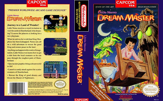 Little Nemo The Dream Master nintendo entertainment system nes review mario zelda capcom rgg retrogamegeeks.co.uk retrogaming videogames gamers gaming games retro collect wii snes u n64 gamecube metroid mega man retro game geeks dreams games
