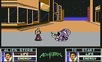 Alien Storm sega arcade mega drive genesis c64 commodore 64 amiga atari st zx spectrum pc dos xbox 360 playstation 3 nintendo switch wii golden axe altered beast Makoto Uchida retrogaming rgg retrogamegeeks.co.uk games gaming gamers retrogamegeeks 90s