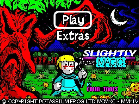 colin jones slightly magic rockstar rock star ate my hamster zx spectrum amiga commodore 64 c64 retrogaming rgg retrogamegeeks.co.uk retro game geeks gaming gamers games ios android codemasters amstrad kickstarter interview wizard dragon mtv music band