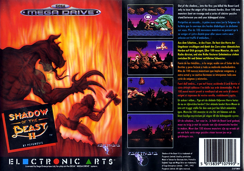 shadow of the beast 2 sega megadrive genesis retro game review geek amiga emulation psygnosis rgg retrogamegeeks.co.uk videogames retrogaming retrogames gaming gamers games retro game geeks