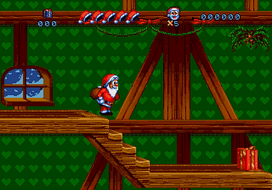 daze before christmas sunsoft sega pal australia xmas santa platformer mega drive megadrive genesis retrogamegeeks retro game geeks rgg retrogamegeeks.co.uk review gaming gamers games classic box cover retrogaming videogames snes super nintendo screenshot