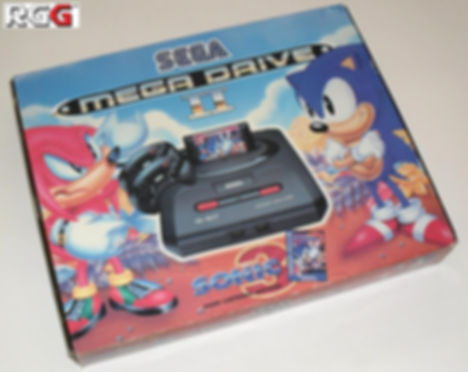 sonic the hedgehog 3 sega console box retrogamegeeks.co.uk retro retrogaming rgg videogames retrogames gamers gaming games remembers megadrive genesis