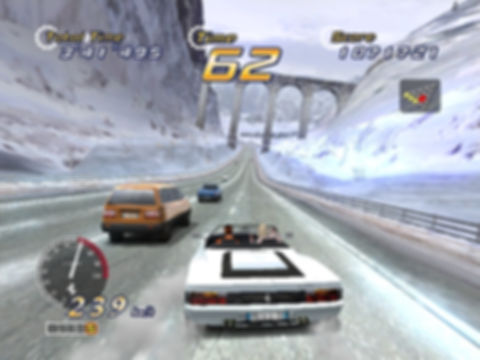 outrun 2 out run coast to coast sega driving rally Ferrari xbox 360 arcade review retrogamegeeks.co.uk retro microsoft rgg retrogaming videogames cars gamers gaming retro game geeks