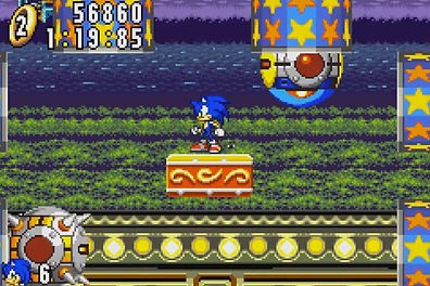 Sonic the hedgehog Advance nintendo review rgg retrogamegeeks.co.uk retrogaming videogames retro game geeks games gamers gaming gameboy gba megadrive genesis Sega Saturn PC n-gage sonic n tails knuckles amy sonic boom sonic team gamecube player chao