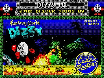 fantasy world dizzy egg eggs codemasters the oliver twins zx spectrum c64 amiga amstrad cpc 464 commodore 64 atari st ms-dos dos pc windows yolkfolk rgg retrogamegeeks.co.uk retrogaming videogames gamers gaming games retro game geeks 80s 90s 8bit 16bit