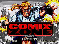 comix zone sega megadrive genesis game games rgg retrogamegeeks.co.uk retrogaming retrogames videogames gaming retro collect classic cartoon comic comics artist retro game geeks retrogames
