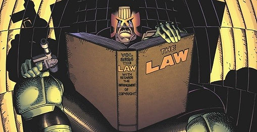 Judge Dredd 2000 A.D. comic videogames history rgg retrogamegeeks.co.uk retrogaming comic Sylvester Stallone Karl Urban uk british mean machine justice police law cops lawgiver megadrive genesis snes gameboy playstation ps2 gamecube xbox pc ios android
