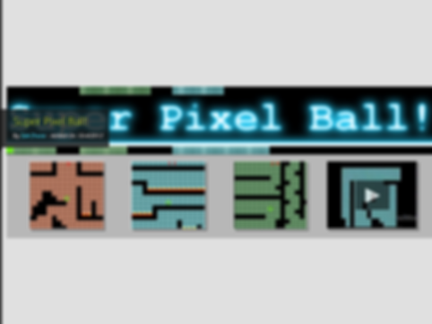 indie review super pixel ball marble madness retro game pc zakaos