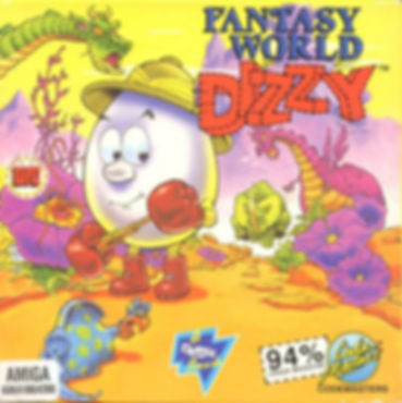 fantasy world dizzy egg eggs codemasters the oliver twins zx spectrum c64 amiga amstrad cpc 464 commodore 64 atari st ms-dos dos pc windows yolkfolk rgg retrogamegeeks.co.uk retrogaming videogames gamers gaming games retro game geeks 80s 90s 8bit 16bit