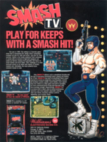 smash tv sega megadrive genesis nes super nintendo snes amiga arcade game gear master system games rgg retrogamegeeks.co.uk retrogaming retrogames videogames gaming retro collect classic running man gaming gamers games